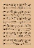 Fundo da contagem da música das ferramentas da cozinha Imagem de Stock Royalty Free