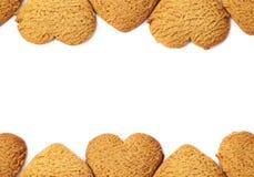 Fundo da cookie de Copyspace Imagem de Stock