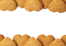 Fundo da cookie de Copyspace Imagem de Stock Royalty Free