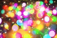 Fundo da cor do Natal Fotos de Stock