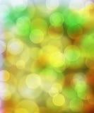 Fundo da cor pastel da luz de Bokeh Foto de Stock Royalty Free