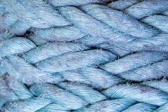 Fundo da corda com cor e textura Fotografia de Stock