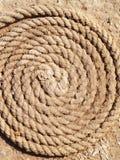 Fundo da corda da marinha Fotografia de Stock Royalty Free