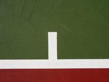 Fundo da corte de tênis Fotos de Stock