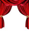 Fundo da cortina Ilustração Royalty Free
