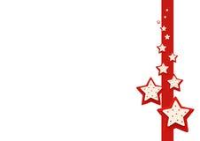 Fundo da decoração da estrela do Natal Fotos de Stock Royalty Free