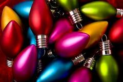 Fundo da decoração do Natal Imagem de Stock