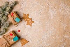 Fundo da decoração do Natal Imagem de Stock Royalty Free