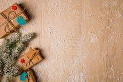 Fundo da decoração do Natal Imagens de Stock