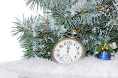 Fundo 2017 da decoração do Natal Foto de Stock