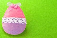 Fundo da decoração do ovo da páscoa com lugar vazio para um texto Decoração da Páscoa imagem de stock
