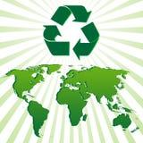 Fundo da ecologia Imagem de Stock Royalty Free