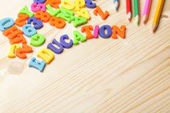 Fundo da educação imagem de stock
