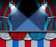 Fundo da eleição ilustração stock