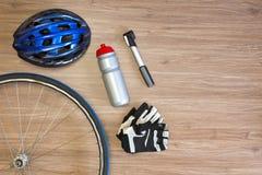 Fundo da engrenagem do ciclismo Fotos de Stock