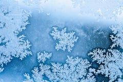 Fundo da escarcha do inverno Fotografia de Stock Royalty Free