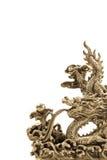 Fundo da escultura do dragão imagens de stock royalty free
