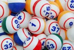 Fundo da esfera do Bingo Imagens de Stock