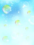 Fundo da espuma verde ilustração royalty free