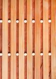 Fundo da esteira de madeira bege Fotos de Stock