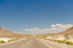 Fundo da estrada Fotografia de Stock