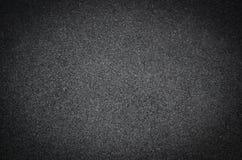 Fundo da estrada ou textura preta, asfalto Imagens de Stock Royalty Free