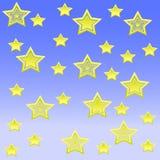 Fundo da estrela Fotografia de Stock
