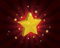 Fundo da estrela Imagens de Stock
