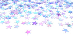 Fundo da estrela azul Fotografia de Stock