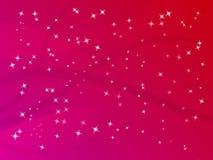 Fundo da estrela do Glitter Ilustração Royalty Free