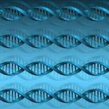 Fundo da estrutura da molécula do ADN Foto de Stock Royalty Free