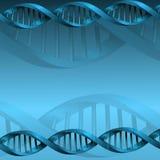 Fundo da estrutura da molécula do ADN Imagens de Stock Royalty Free