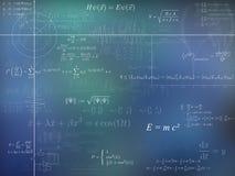 Fundo da física ilustração stock