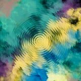 Fundo da fantasia As nuvens da cor dispersam Textura e fundo coloridos abstratos Espaço ondulado da cópia Projeto gráfico moderno ilustração stock