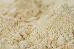 Fundo da farinha de soja Imagem de Stock