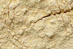 Fundo da farinha do grão-de-bico foto de stock