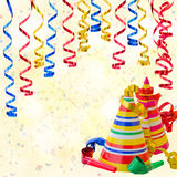 Fundo da festa de anos Fotografia de Stock Royalty Free