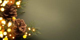Fundo da festa de Natal Fotos de Stock Royalty Free