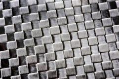Fundo da fibra do carbono Foto de Stock
