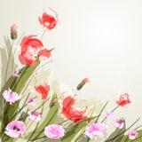 Fundo da flor Foto de Stock