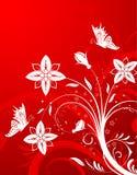 Fundo da flor Fotografia de Stock Royalty Free