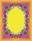 Fundo da flor da arte de PNF ilustração royalty free
