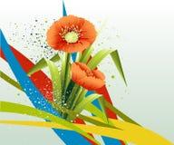 Fundo da flor da mola Imagem de Stock