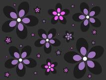 Fundo da flor de Emo Ilustração Royalty Free