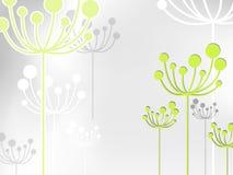 Fundo da flor do dente-de-leão ilustração stock