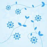 Fundo da flor do vetor Foto de Stock Royalty Free