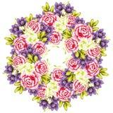 Fundo da flor fresca ilustração stock