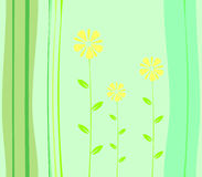 Fundo da flor, vetor Imagens de Stock Royalty Free