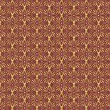 Fundo da folha de Borgonha e de ouro Imagem de Stock Royalty Free