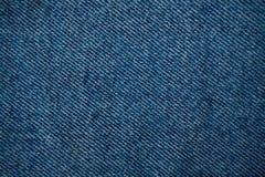 Fundo da forma do projeto da textura das calças de brim da sarja de Nimes Fotos de Stock Royalty Free